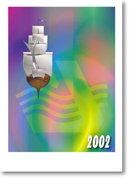 Календарь  «Дністер» 2002