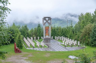 Меморіальний комплекс Українських Січових Стрільців на горі Маківка